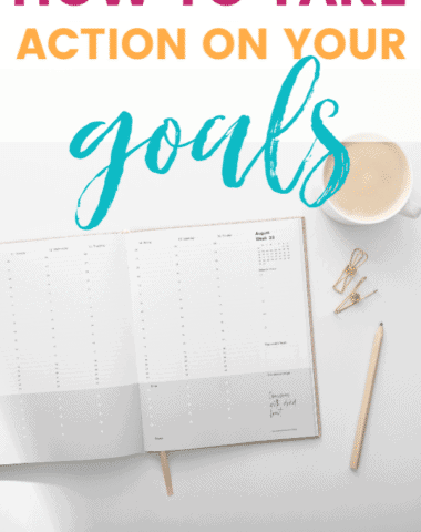 It's one thing to make new goals this time of year and it's another thing completely to take action on those goals. Do you want to actually make them happen? Then this post is for you! Here are 3 steps to take if you want to crush your goals this year.
