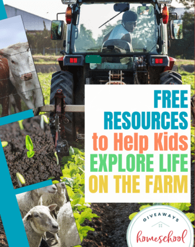 FREE Resources to Help kids Explore Life on the Farm