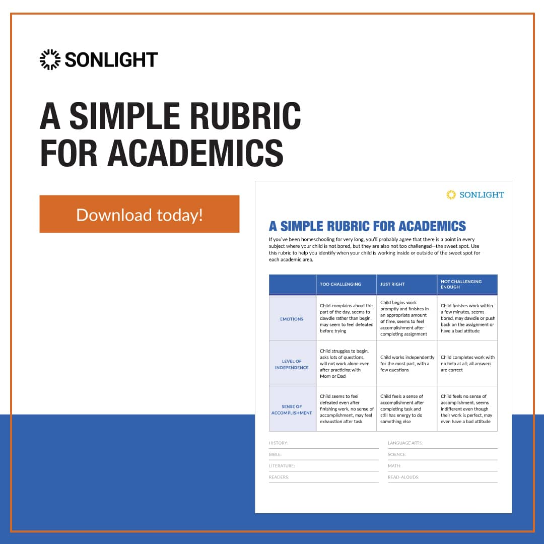 A Simple Rubric for Academic Difficulty