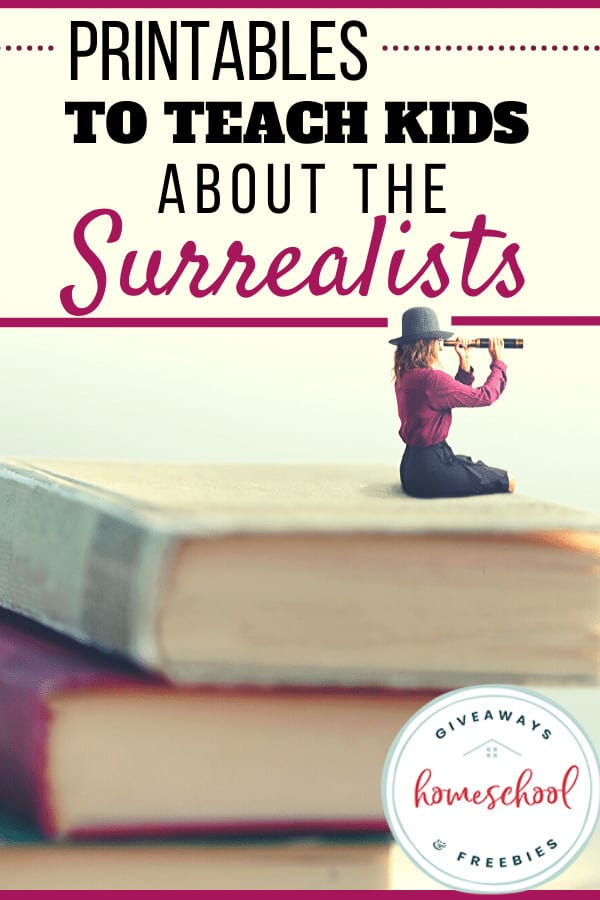 Printables to Teach Kids About the Surrealists