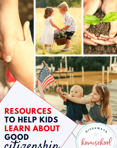 Resources to Help Kids Learn About Good Citizenship.