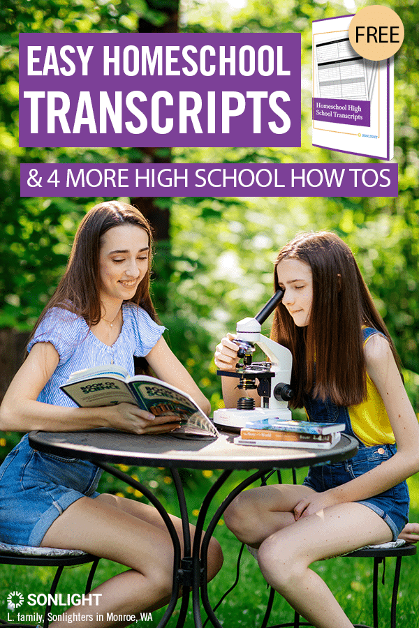 Easy Homeschool Transcripts and 4 More High School How Tos