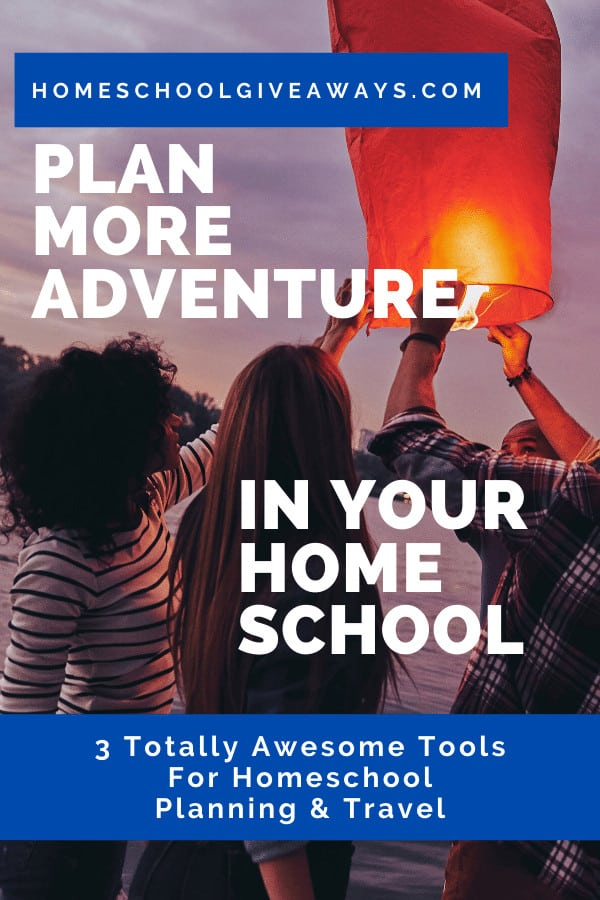 image of teens launching chinese lantern into the sky with text overlay. Plan more adventure in your homeschool with www.homeschoolgiveaways.com