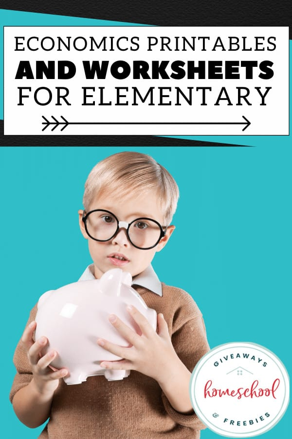 Economics Printables and Worksheets for Elementary #elementaryeconomics #economicworksheets #economicsprintables