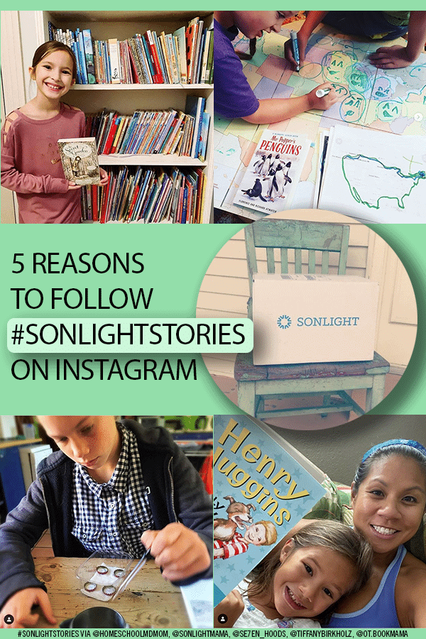 5 Reasons to Follow #Sonlightstories on Instagram