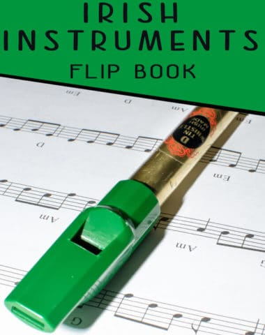Irish Instruments Flip Book