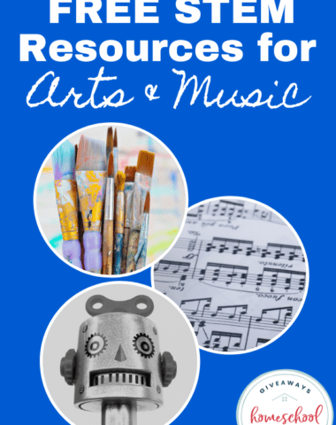 FREE STEM Resources for Arts & Music. #STEAMresources #STEMresources #sciencekids #engineeringkids #mathkids #artkids #techiekids #artSTEMresources #musicSTEMresources