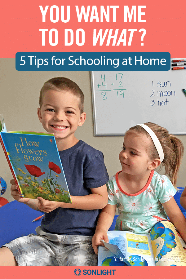 You Want Me to Do What? 5 Tips for Schooling at Home