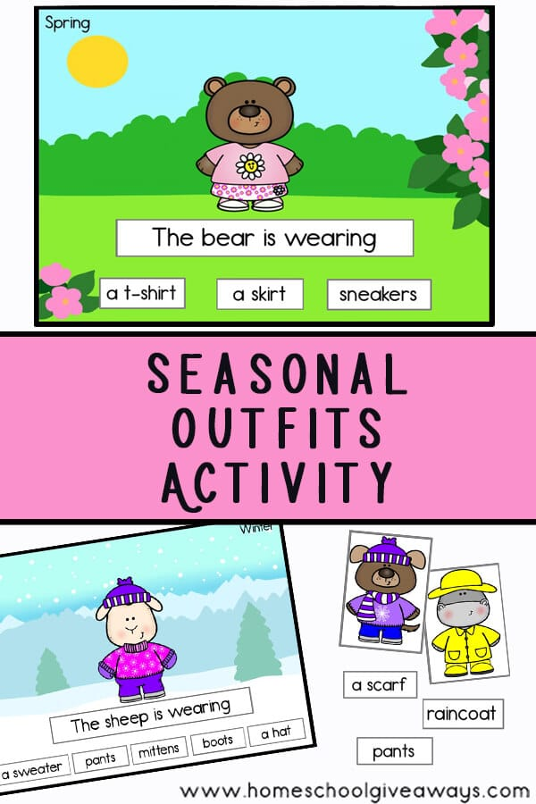 Seasonal Outfits Activity