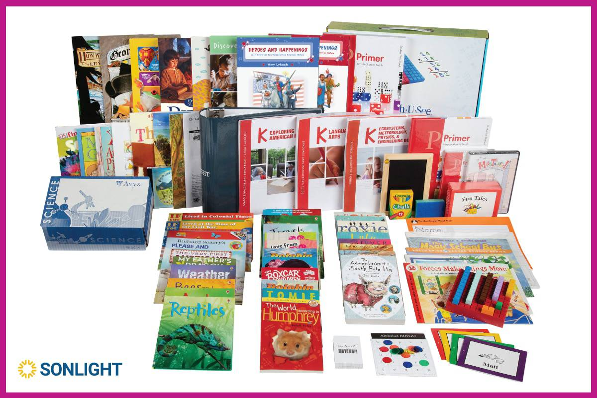 Kindergarten Curriculum All-Subjects Package K