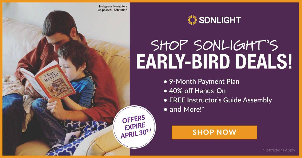 Sonlight April Offers