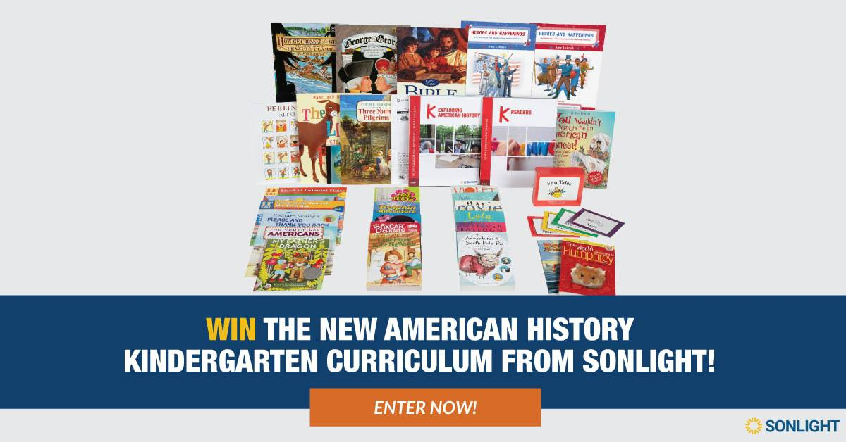 Enter to win American History Kindergarten