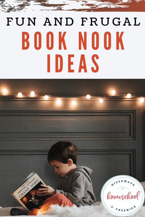 Fun and Frugal Book Nook Ideas. #frugalbooknookideas #booknookideas #funbooknookideas