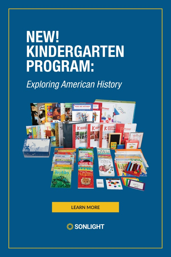 the Best American History & Science Curriculum for Kindergarten