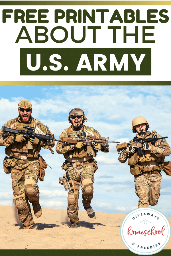 Free Printables About the U.S. Army. #USArmyresources #USArmyprintables #abouttheUSArmy