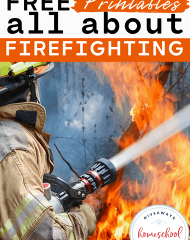 Free Printables All About Firefighting. #firefighters #learningabout firefighters #allaboutfirefighters #firefighterprintables