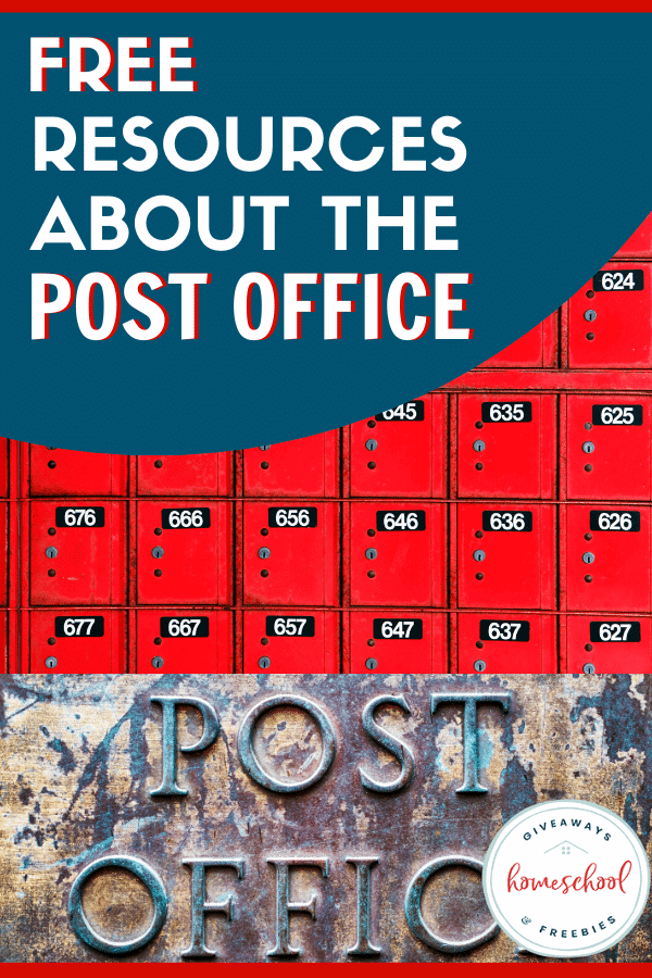 Free Resources About the Post Office. #postofficeresources #postofficeprintables #postalservice #postalsystem