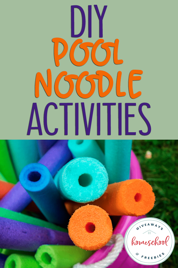bucket of pool noodles