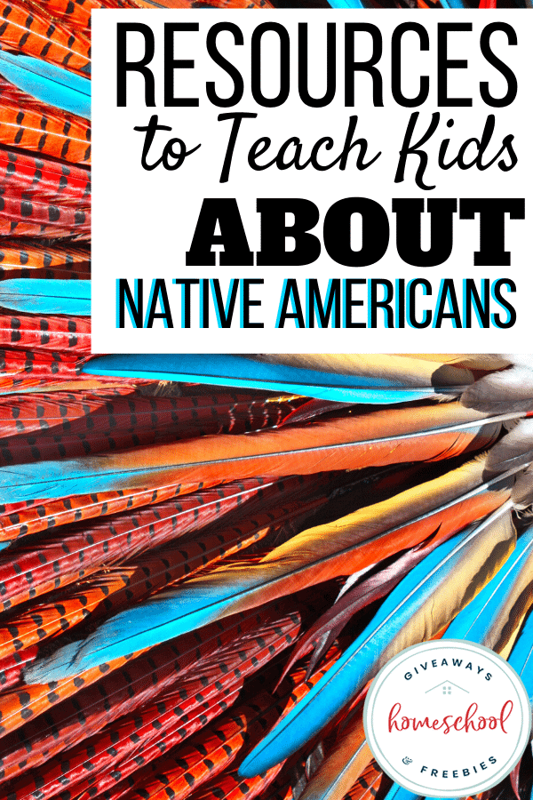 Resources to Teach Kids About Native Americans. #nativeamericanresources #nativeamericanprintables #teachaboutnativeamericans