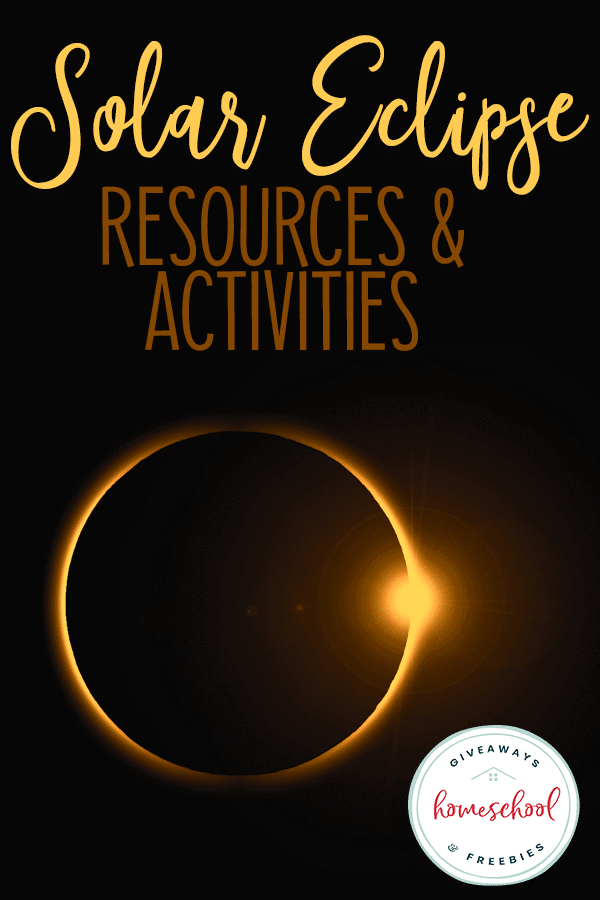 "solar eclipse with diamond ring flair - overlay ""Solar Eclipse Resources & Activities"""