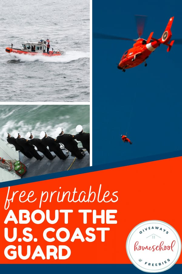 Free Printables About the U.S. Coast Guard. #USCoastGuardprintables #coastguardresources #aboutthecoastguard