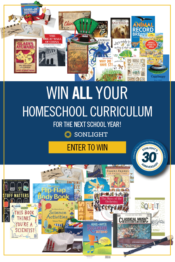 Win All Your Homeschool Curriculum for the Next School Year!
