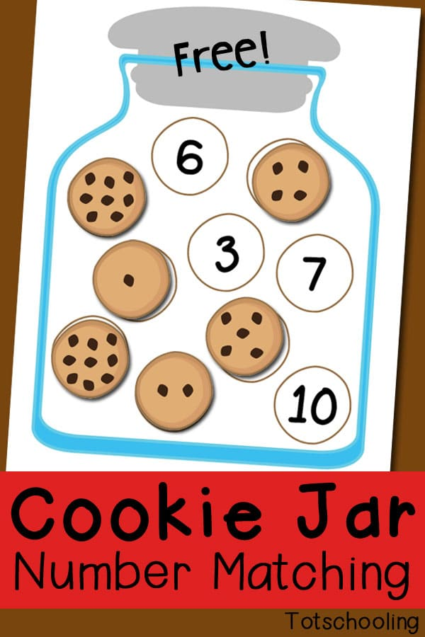 cookie jar number matching game