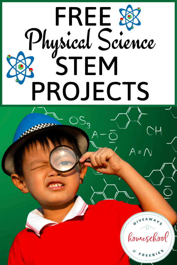 Free Physical Science STEM Projects. #physicalscienceSTEM #STEMprojects #physicalscienceprojects #earthscienceprojects #physicsSTEM #chemistrySTEM