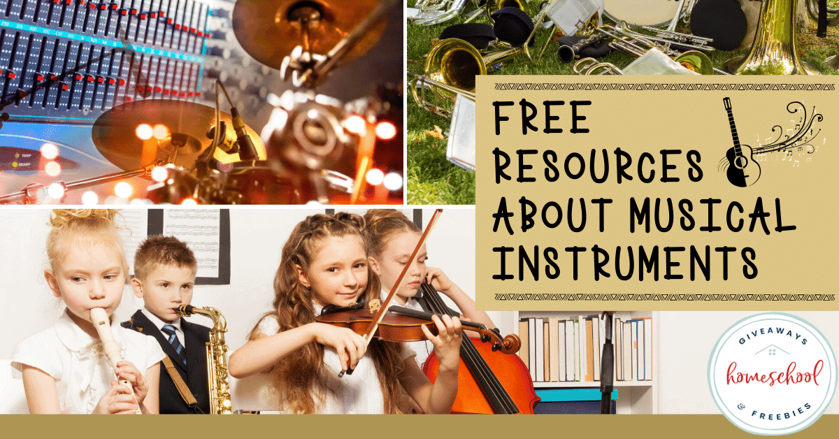 Free Resources About Musical Instruments. #musicalinstrumentsforkids #musicalinstruments #kidsmusicalinstruments #pianoresources #ukuleleresources