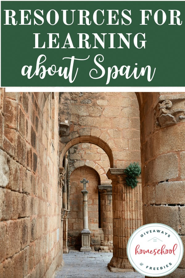 Resources for Learning About Spain. #Spainresources #Spainprintables #learnaboutSpain