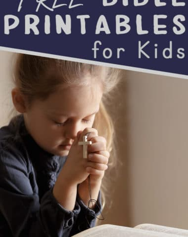Bible Printables for Kids