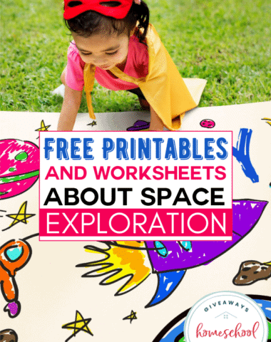 Free Printables and Worksheets About Space Exploration. #spaceexploration #exploringspace #spaceresources #spaceprintables