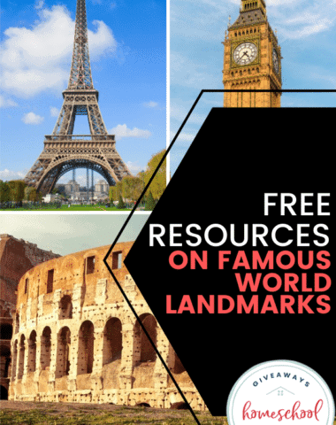 Free Resources on Famous World Landmarks. #famousworldlandmarks #worldlandmarks #famouslandmarks #landmarkresources