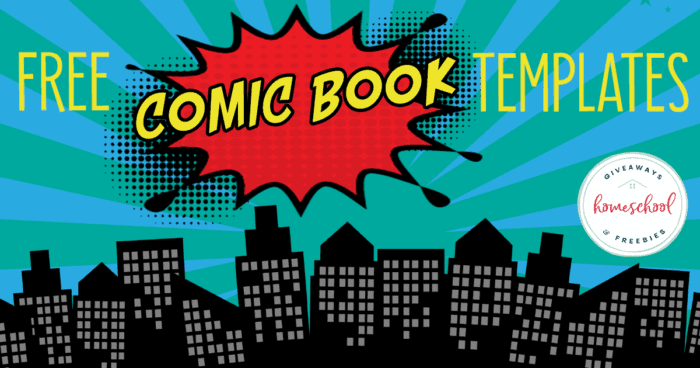 comic book scene with overlay - FREE Comic Book Templates