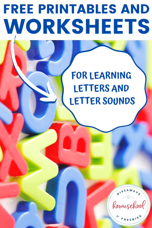 magnetic letters scattered with overlay - FREE Printables and Worksheets for Learning Letters and Letter Sounds