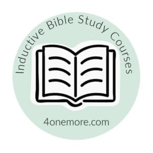 Inductive Bible Study Courses logo