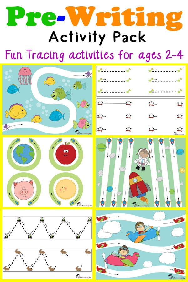 prewriting activities for 2-4