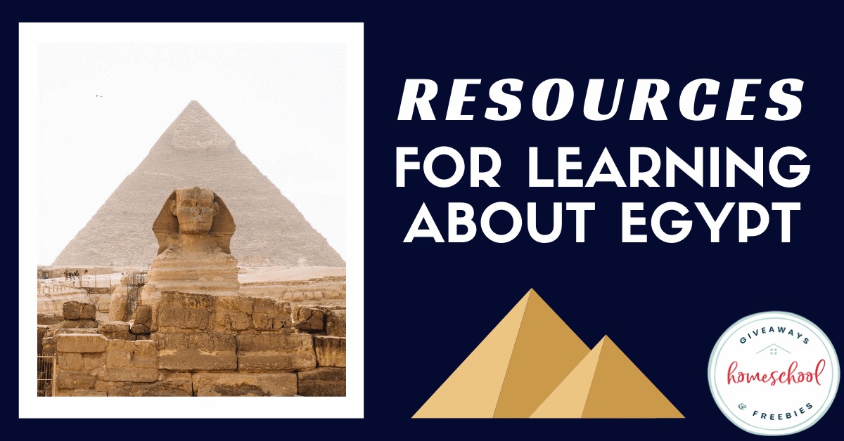 Resources for Learning About Egypt. #Egyptprintables #Egyptresources #Egyptcountrystudy #ancientegypt