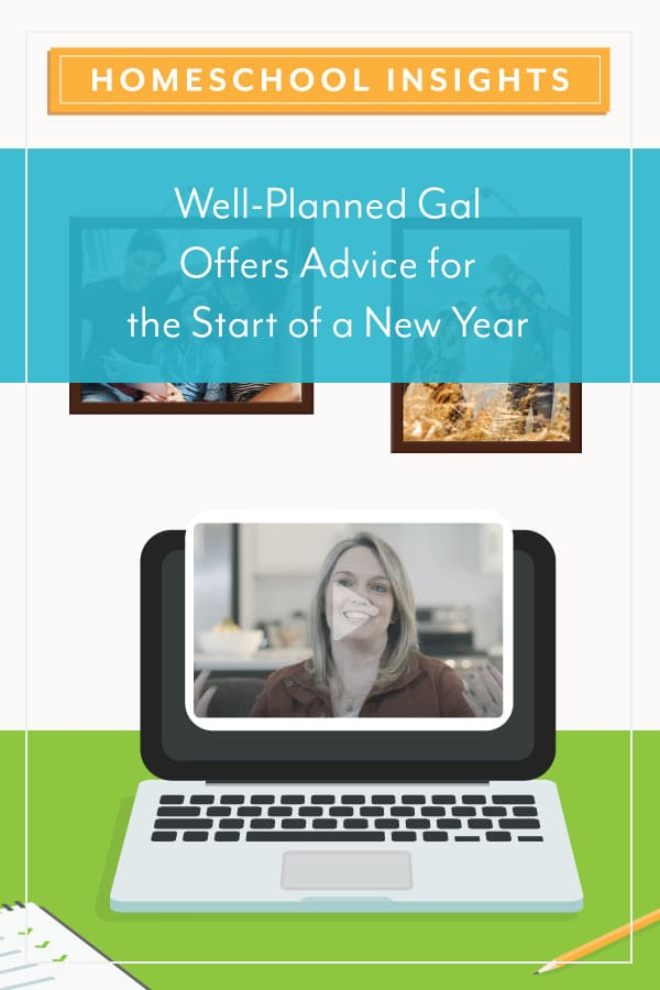 Well-Planned Gal Offers Advice for the Start of a New Year
