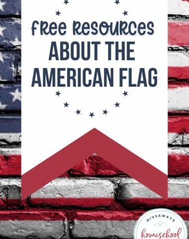 Free Resources About the American Flag. #Americaflag #americanflagresources #americanflagprintables #pledgeofallegiance #starspangledbanner