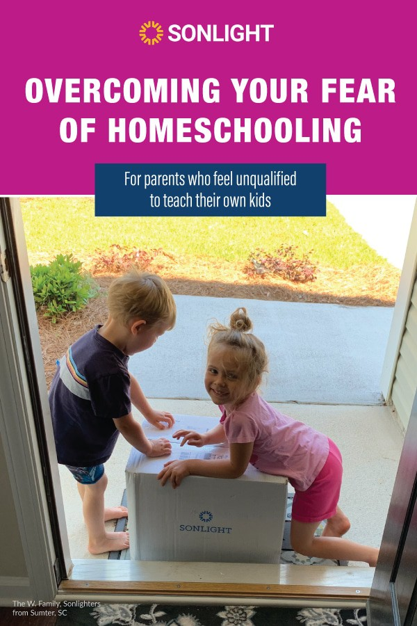 How to Overcome Your Fear of Homeschooling