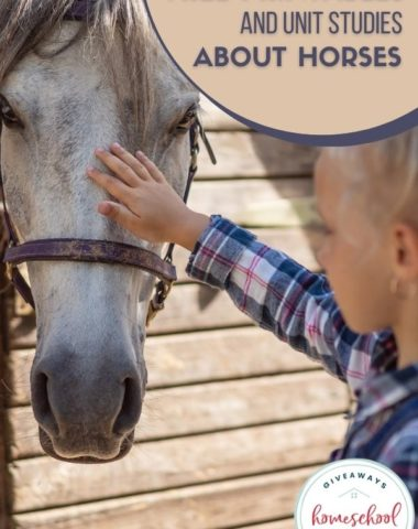 Free Printables and Unit Studies About Horses. #horseunitstudies #horseprintables #learnabouthorses