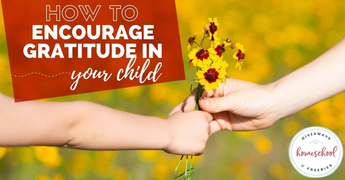How to Encourage Gratitude in Your Child. #encouragegratitude #gratefulkids #raisinggratefulkids #encouraginggratitude