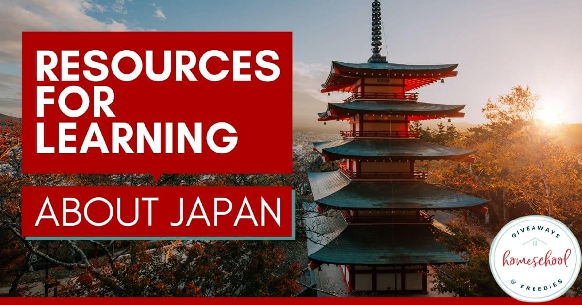 Resources for Learning About Japan. #japanunitstudy #japaneseunitstudy #japanprintables #japaneseprintables