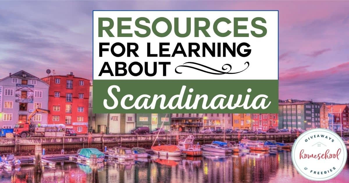 Resources for Learning About Scandinavia. #scandinaviaresources #scandinavia resources