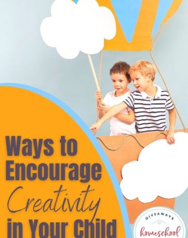 Ways to Encourage Creativity in Your Child. #encouragecreativity #creativityinkids #encouragingcreativity #waystoencourage