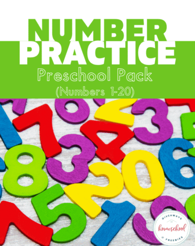 Free Number Practice Worksheets (Instant Download). #numberpracticeworksheets #numberworksheets #understandingnumbers #numberworksheets #numberpreschoolpack #preschoolworksheets