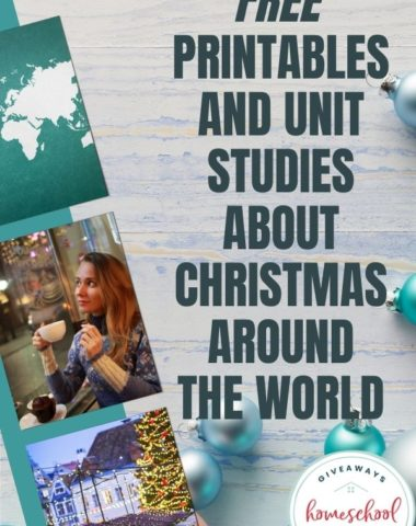 Free Printables and Unit Studies About Christmas Around the World. #ChristmasAroundtheWorld #holidaysaroundtheworld #Christmasaroundtheworldunitstudies #Christmasaroundtheworldresources