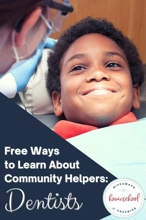 Free Ways to Learn About Community Helpers: Dentists. #communityhelperdentists #communityhelpers #dentists #learnaboutdentists #dentalhealth