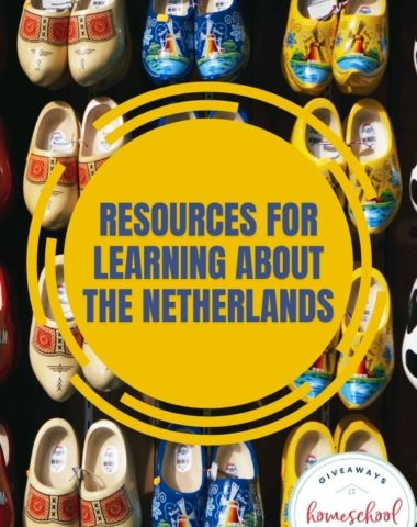 Resources for Learning About the Netherlands. #Netherlandsresources #Netherlandsprintables